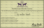 Northern-Jaro   License by blueshinewolfstar1