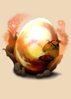 An odd egg by T-Finbo