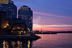 Evening in Halifax by StephCarmel