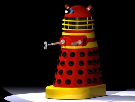 Red Dalek, 1965 Movie, I by Ralphmax