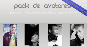 Pack de Avatares 'Neymar' by madeinjungle
