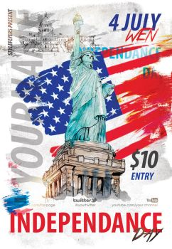 Independance-day  by Styleflyers