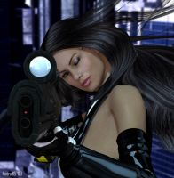 Cyber La Femme Punisher 02 by hotrod5