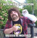 GoDaikocon 2013: Mick Foley by BigAl2k6