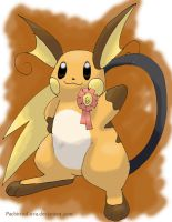 6th Fav PKMN-Raichu by PachirisuLuva