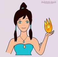 Korra Firebender2-By-Jazmin-Jazz by Jazmin-Jazz