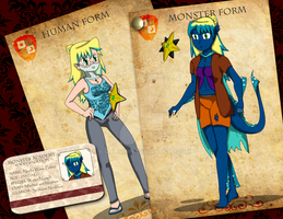 Monster Academy Application (comision) by V-Oblivion