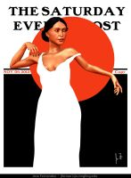 Saturday Evening Post Cover by Myselfsama