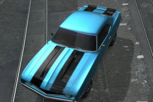 GT5 1969 Camero Z28 by Worlds-of-Danger