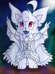 LDF : Ashen The Albino Bat by nami955