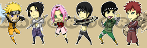 Stickers: Naruto 2 by forte-girl7