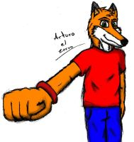 new fursona =D by Master-wolf149