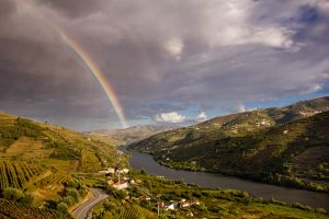 Rainbows over the Douro by Jikul