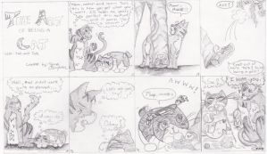 The Art of Being a Cat - comic by singlet