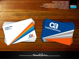 California Airlines by ronaldesign