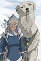 Old Korra by matriiarch