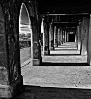 graphic arches 2 by awjay