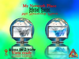My Network Place.Metal Suite. by klen70