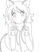 Anime Haloween Coloring Page 1 by aurorastar21