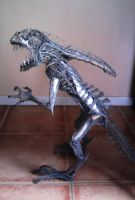 Alien sculpture update by braindeadmystuff