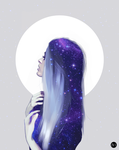 Moon by Psycholand1