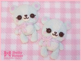 Murshmallow Bears rings by SweetDollyHouse
