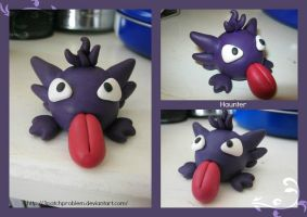 Haunter Used Silly Face by 3PatchProblem