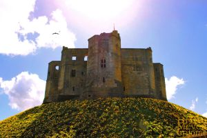 Warkworth Castle by brijome