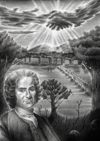 Jean-Jacques Rousseau by dwarfeater