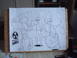 the technicians by louisesaunders