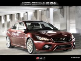 Audi RS4 Chris Bangle style by phareck