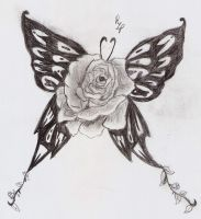 .::Rose Butterfly::. by PeaceLoveAndGreen