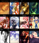 2013 Summary of Art by elefluff