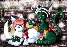 Lee x Gaara Family by Yaoi-Fanclub