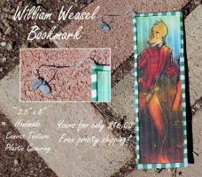 William Weasel BOOKMARK by MistyTang