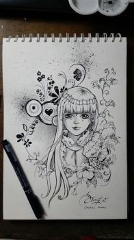 another inktober 2016 by MariaKhe
