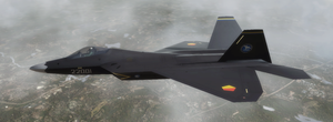 F-22A - Yuktobanian Air Force by Jetfreak-7