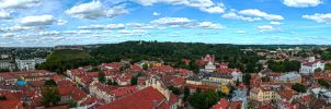 Little part of Vilnius old town by simsunas