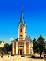 The village church of Alberndorf in der Riedmark by patrickjobst