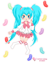 Miku - Lots of laugh by cotton-candy-dreamer