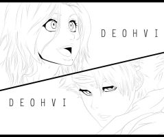 Bleach 548 - Lineart by DEOHVI