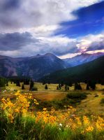 Rocky Mountains by Izzie-Hill