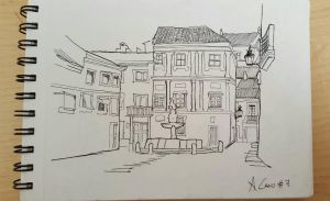 #7 - urban Sketch by antoniocano