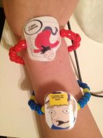 The most amazing bracelet that will ever be by DerseDreamer