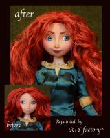 Merida OOAK doll by RYfactory