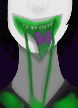 Gamzee's mouth full by evilmonkey999