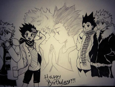 HAPPY (very very late) BIRTHDAY by jhasthedeathnote