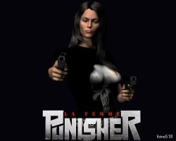 La Femme Punisher: Warzone by hotrod5