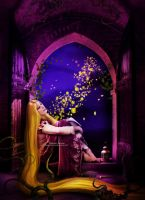 Tangled-What is it like,Up there where they glow by areemus