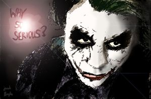 The Joker (edited) by jacobmatthewhayles